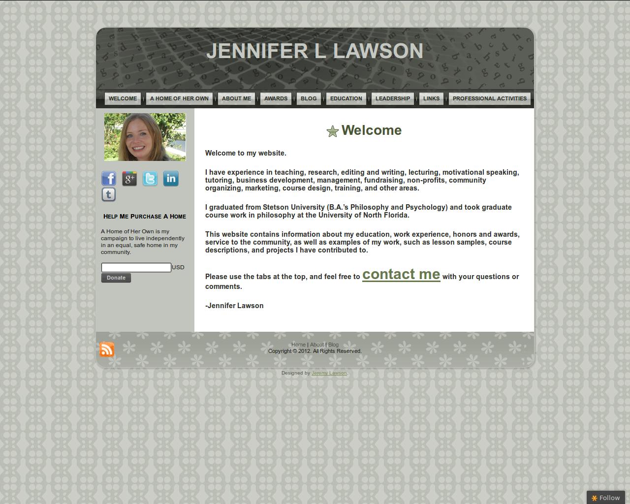Jennifer L Lawson